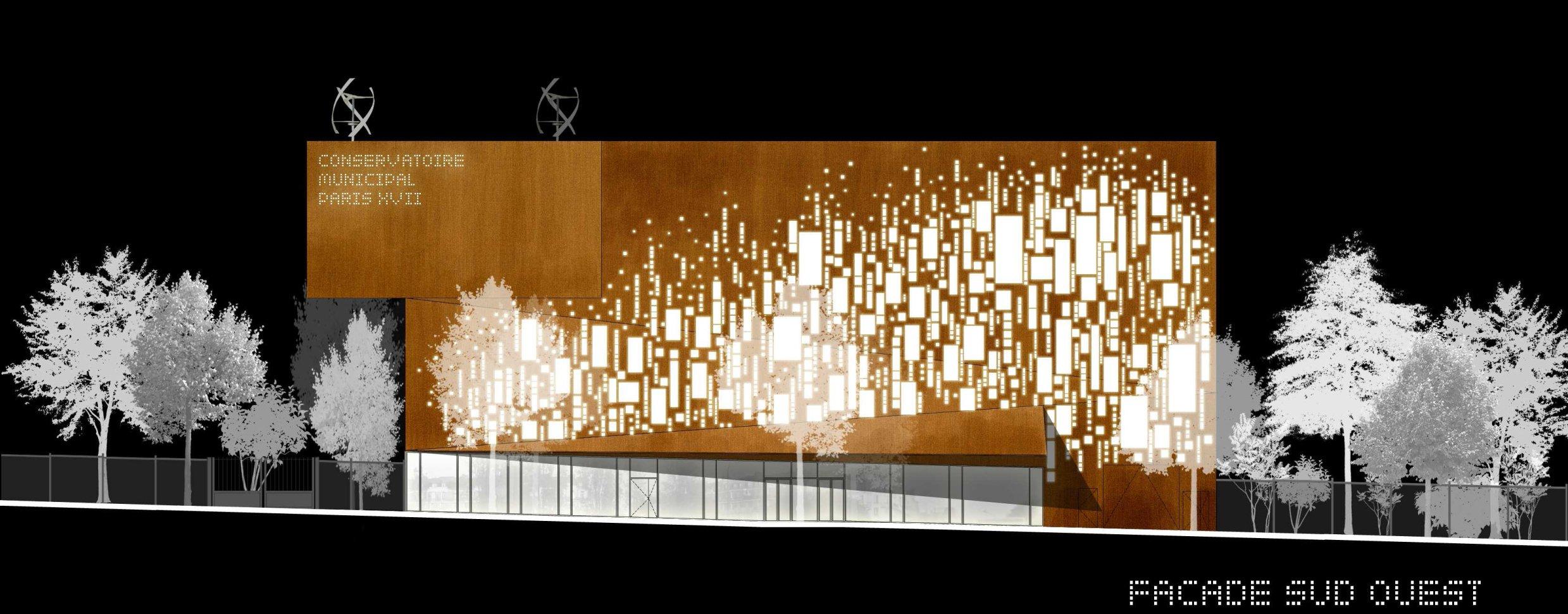 R sultat du jury du concours d architecture pour le for Architecture concours